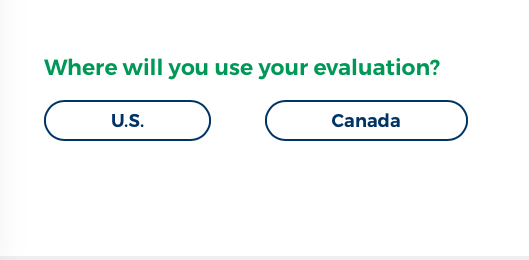 Where will you use your evaluation?