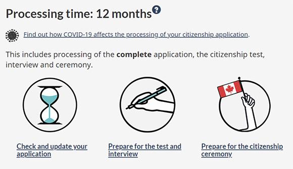 加拿大申请入籍时间